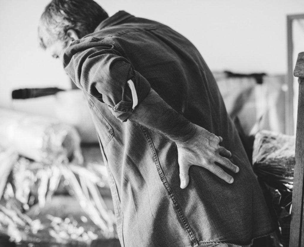 Back Pain injury
